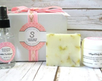 White Tea Ginger Soap Collection, gift soap, body mist/body butter/birthday gift/gift for mom/graduation gift