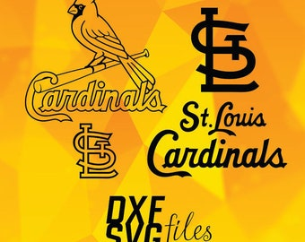 St. Louis Cardinals logos in SVG / Dxf / Png files INSTANT DOWNLOAD!
