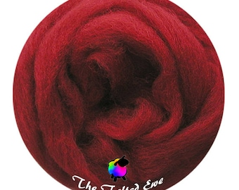 Needle Felting Wool Roving / ES19 Life Force Carded Wool Sliver