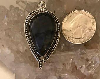 Beautiful Fiery Labradorite Pendant Necklace
