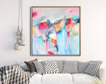 Abstract Landscape, Abstract Art Print, Abstract Art, Colorful Art Print, Abstract Giclee Print, Modern Art, Contemporary Art, Wall Decor