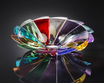 Rotation crystal centerpiece Chiarte