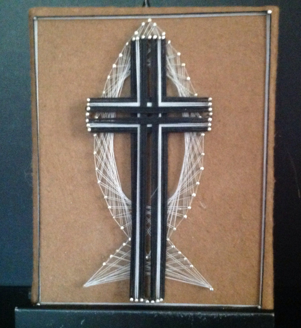 Vintage l970s retro string art religious christian zoom biocorpaavc Image collections