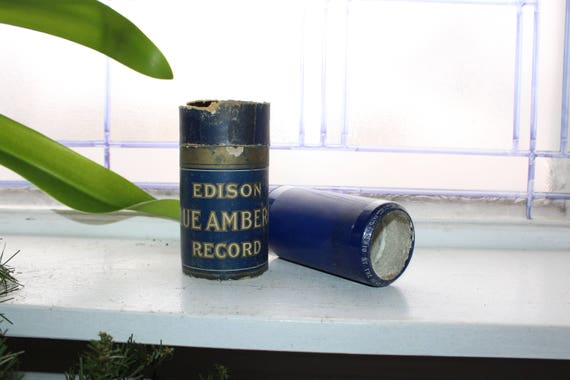 Antique Edison Cylinder Record 2410 By The Dear Old River Rhine