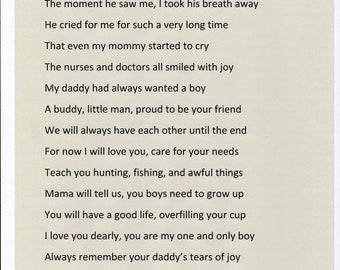 Daddy's Tears Of Joy