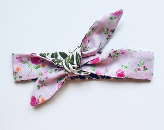 Baby, Toddler Headband Reversible
