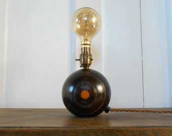 Vintage Wooden Bowling Ball No. 4