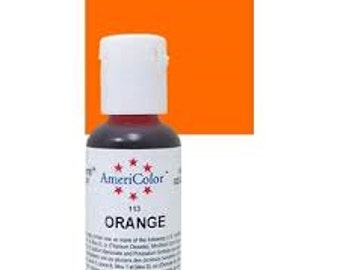 Americolor Orange Gel Paste