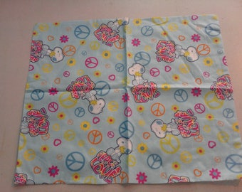 Snoopy with Peace Love fabric 250134