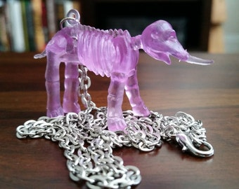 Elephant Skeleton Necklace