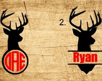Deer Monograms