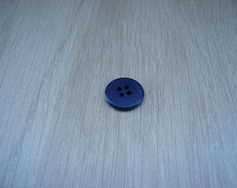 Navy Blue medium button without lip