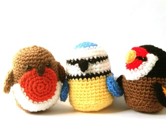 Amigurumi Pattern Crochet - Birds Crochet Patterns