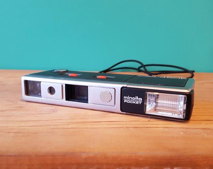 1977 Minolta Autopak 450E Subminiature Camera