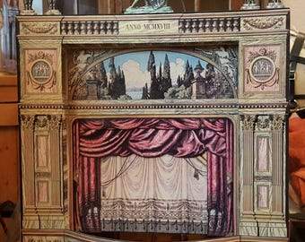 paper toy theatres printable models pdf and jpeg zip files all 10 on dvd late 1800s to 1930