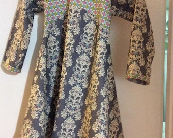 Girls Long Sleeve Fall Dress size 6
