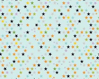 Riley Blake Halloween Magic Stars Multi - Cotton Fabric - Choose your cut
