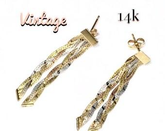 14k Vintage Earrings