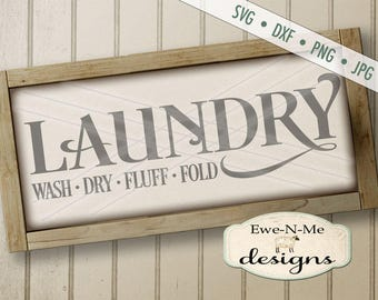 Laundry Room SVG - laundry svg - Laundry room cut file - laundry room stencil - Commercial Use svg cut file - laundry -  svg, dxf, png, jpg