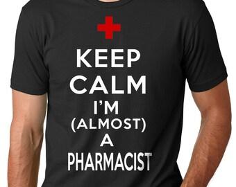 Pharmacist T-shirt Almost A Pharmacist T-Shirt Student Tee Shirt Graduation Gift Pharmacy School Drugs T-shirt