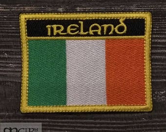 Patch Irish flag.