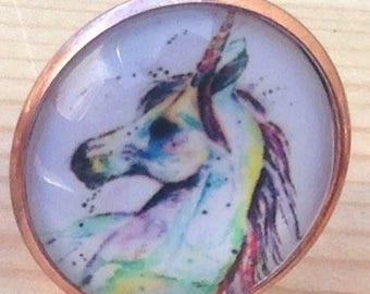 Magical unicorn ring