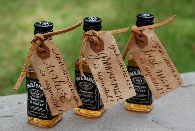 Usher Wedding Gifts: Will You Be My Groomsman/Groomsmen Best Man Usher Wedding