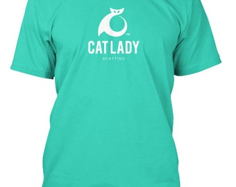 Cattino Brand Cat Lady T-Shirt