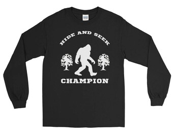 Hide And Seek Champion Funny Long Sleeve T-Shirt