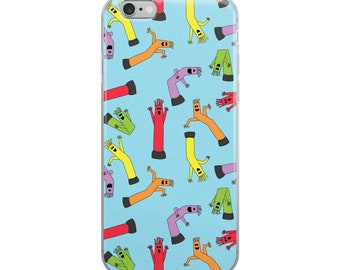 inflatable tube men iPhone Case