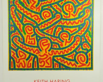 Keith Haring, Untiteled (1989), Exhibition Graphic