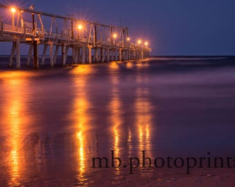 seascape, ocean, the spit, gold coast, long exposure, jetty, night, landscape photography
