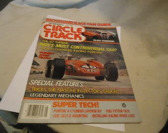 Vintage May 1985 Petersen's Circle Track The 67 Turbine Magazine Volume 4 Number 5, collectable