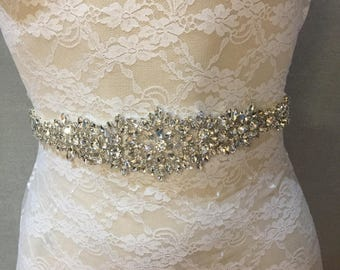 Bridal Belt | Wedding Belt | Bridal Sash | Wedding Sash | Crystal Bridal Belt | Bridal Accessories | Wedding Accessories