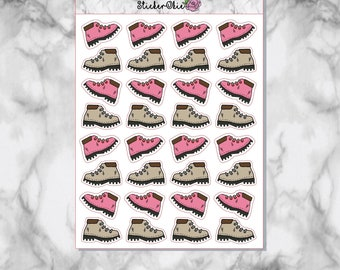 F104 Hiking Boots planner stickers