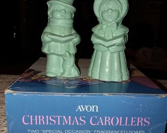 Avon Christmas Carollers Soap