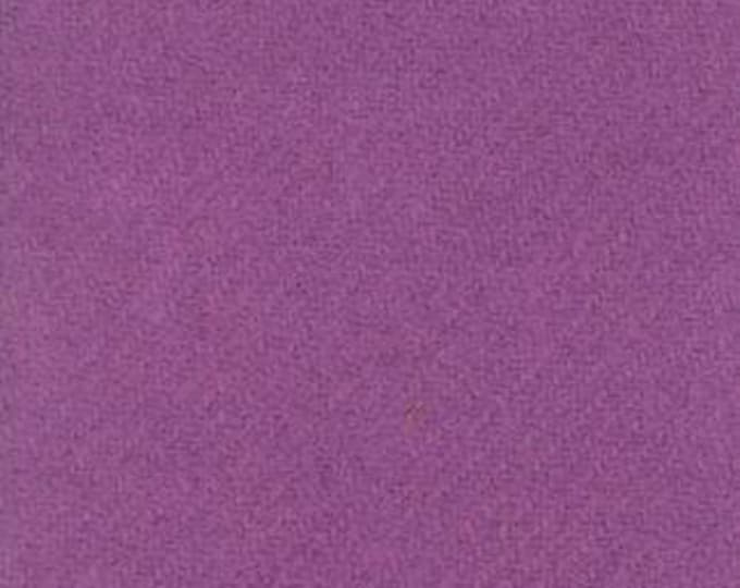 Moda 100% Wool Violet 5481046 - 1/2 yd x 54 inches
