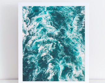 Nautical Prints, Sea Wall Art, Ocean Poster, Beach Pictures, Wave Printables, Modern Minimalist, Scandinavian Decor, Instant Download, Home