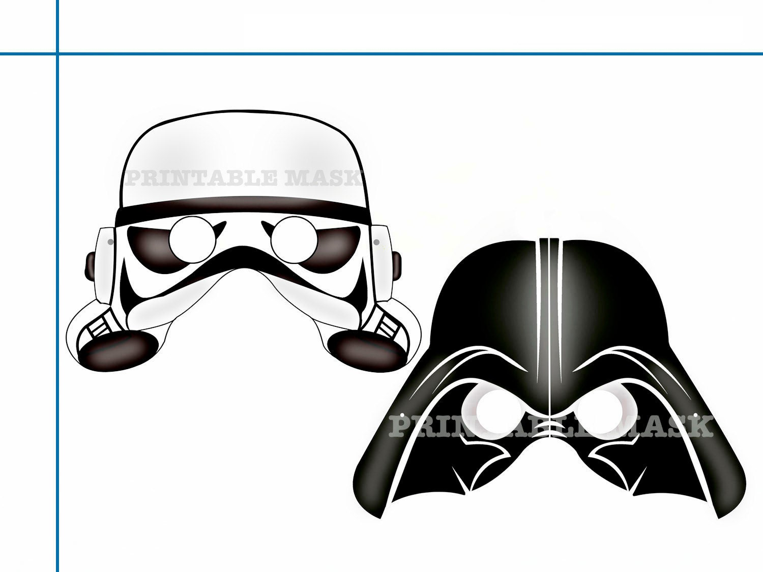 Famous Darth Vader Mask Template Crest Resume Ideas Namanasacom Il Fullxfull Yoda Free Printable