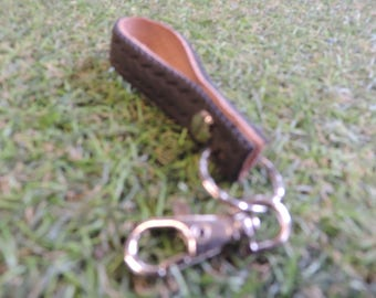 Upcycled Tyre Key Ring