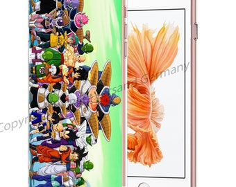 DRAGONBALL Z Smartphone transparent TPU Case with motif fit for Smartphone models Huawei iphone SAMSUNG Cartoon Comic M2