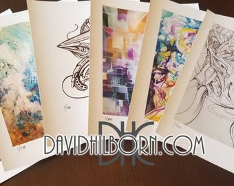 """Package of 6, 8""""x10"""" prints- 1 out of 100 signed and numbered."""