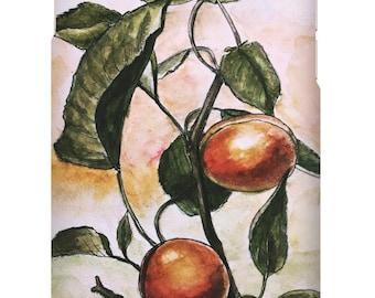Wild Apricot Phone Case