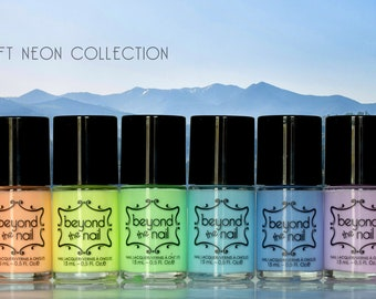 Soft Neon Collection - Full Collection of Eight Polishes