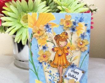 Birthday card, Happy Birthday Card, Birthday. Happy Birthday, girl, women