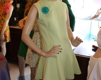 1960's Vintage Mini Dress  Item #178-MD