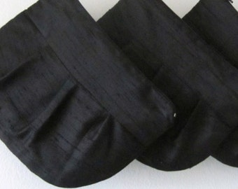 Black Clutch Purses  **Special Offer** Set of  4 Bridesmaid Clutch Purses - Bridesmaid Gift !!   Clutch Purses (choose your colours)