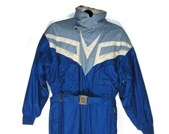 Bogner Ski Suit Snowboard Bogner Vtg Powder Suit Ski Clothes Men's Vtg Over-Sized Ski Suit Insulated Powder Suit Warm Vintage Ski Suit 36R