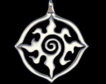 Radiance  (Large version of Lauren's 'Lost Girl' Necklace)