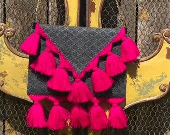 Frida Lisa/ Handmade Clutch